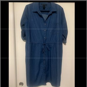 Fashion To Figure chambray dress